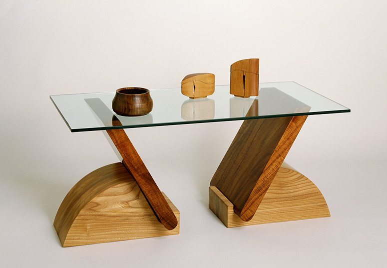 this table is held together by gravity and is customizable in size. the beauty of simplicity.