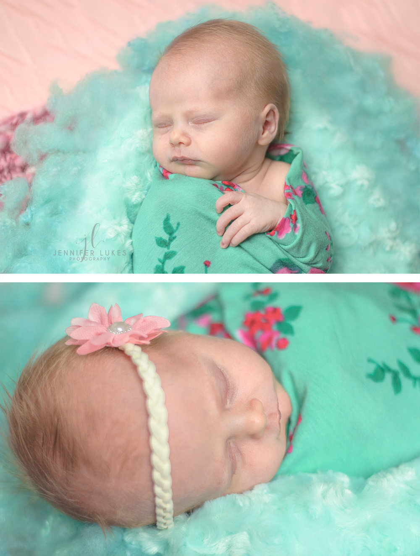 Bothell Newborn Baby Girl Sleeping
