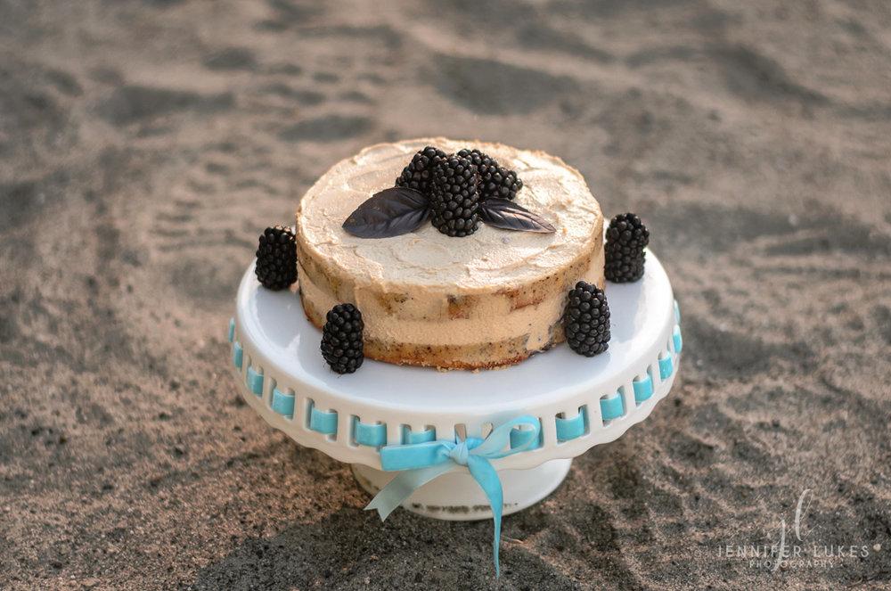 Blackberry Smash Cake