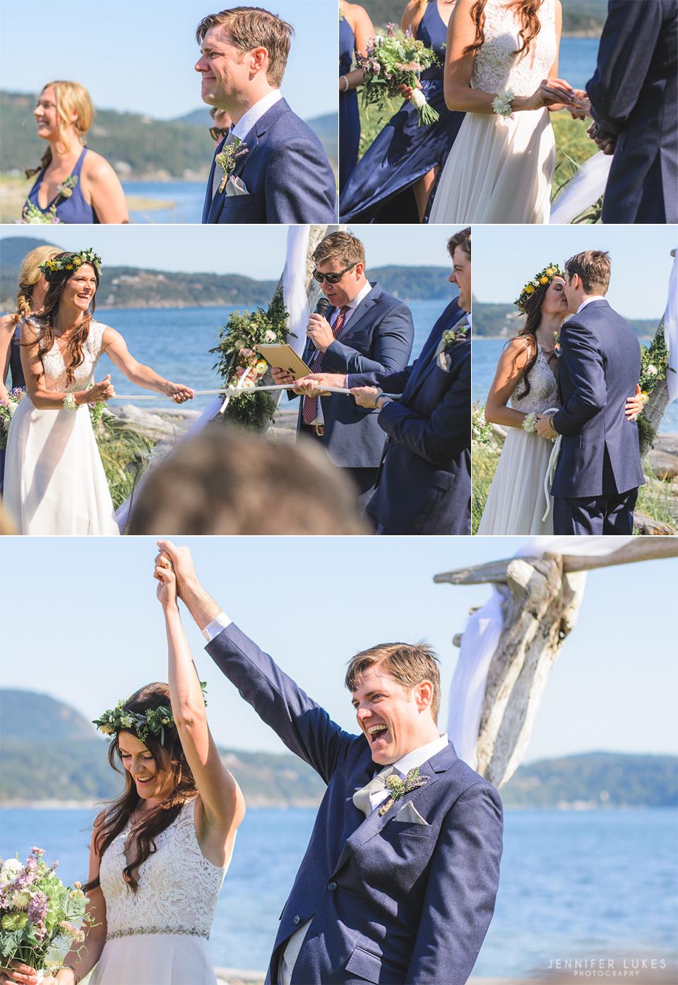 Washington Coast Wedding Real Moments