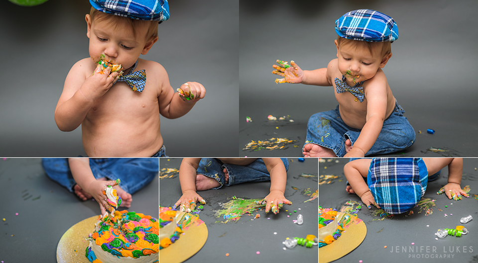 Bellevue Eastside Seattle First Birthday Cake Smash Details