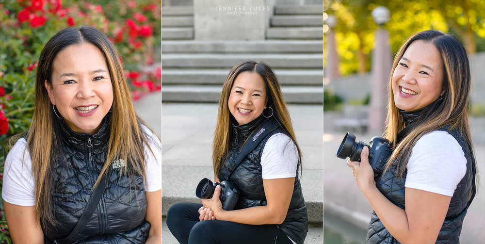 Creatives Headshot Session at Downtown Park in Bellevue
