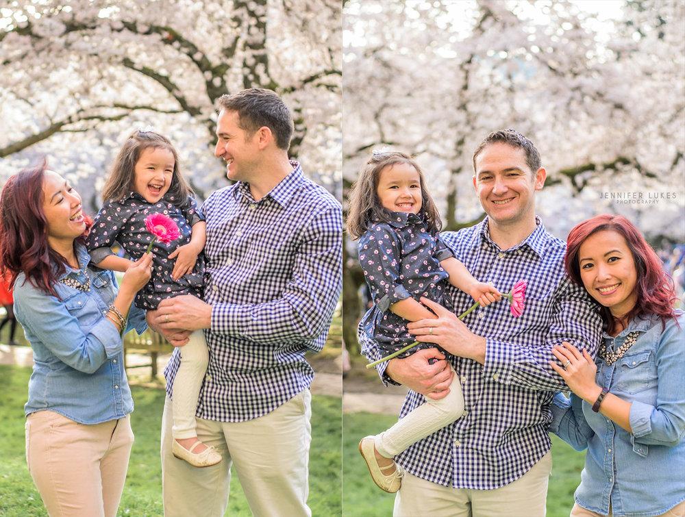 UW Quad Family Photos