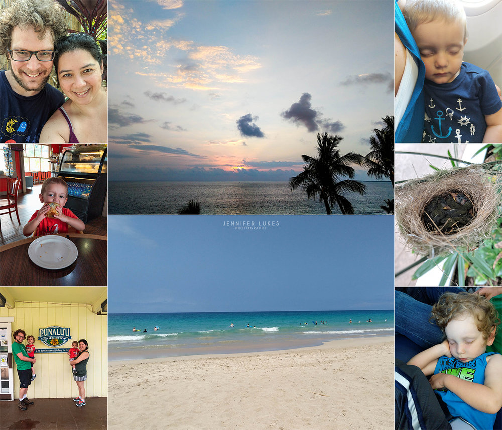 Photos taken with a phone on a Bellevue family's Hawaiian vacation.