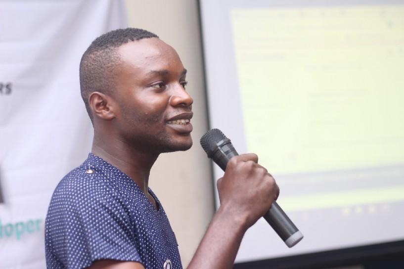 Mr Precious, ICA Ozoro Polytechnic speaking on .Net