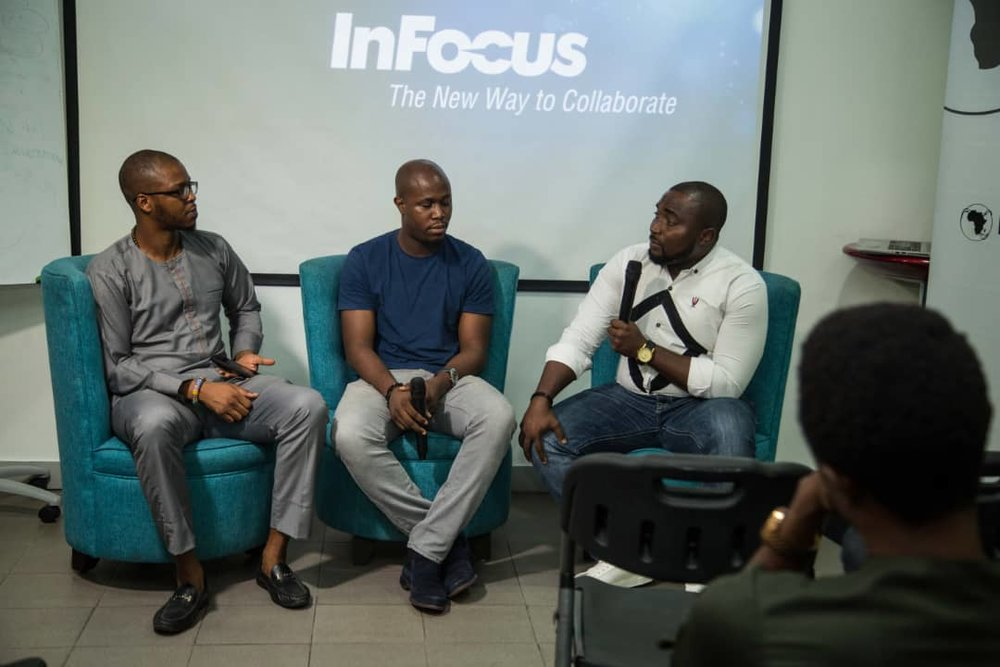 This closed event hosted experienced members of the Nigerian tech community active in the areas of fintech,blockchain, cryptocurrency, and/or the banking sector .