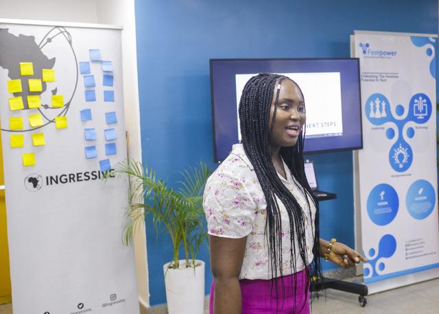 Sandra Ajaja, Founder Fempower Africa