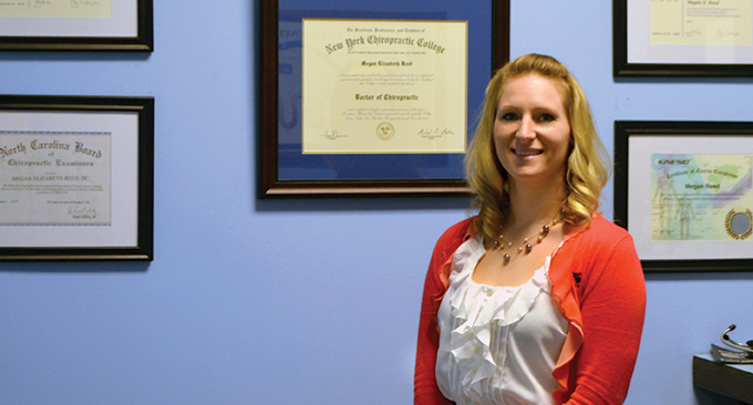 Dr. Megan Reed, Chiropractic Physician and owner of Peak Wellness and Chiropractic