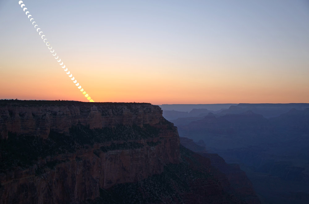 2012 Solar Eclipse at Grand Canyon
