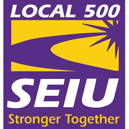 SEIU Local 500 -