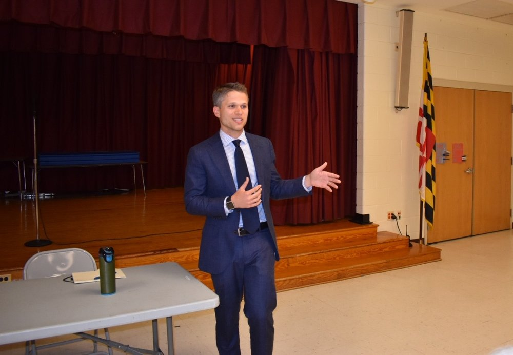 Montgomery County Council District 3 challenger Ben Shnider