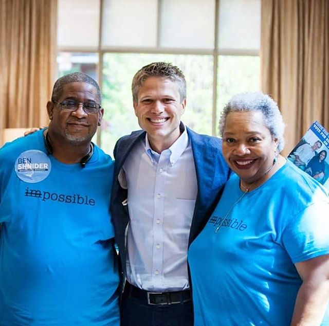 It's so wonderful and humbling to have the love and support of incredible, local leaders like John and Yvette. I'm honored by the energy they bring to this grassroots campaign for change. Hopefully we'll see you out at the polls today. Vote for change. Vote for Ben Shnider in District 3!