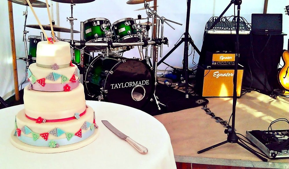 Live Band Home Farm Wedding