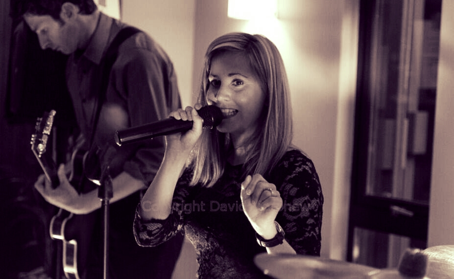 Live singer Ashorne Wedding