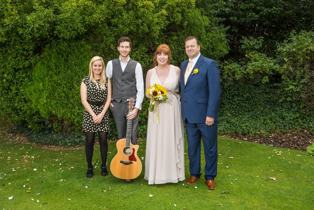 Taylormade Accoustic Duo Wedding Stratford Upon Avon
