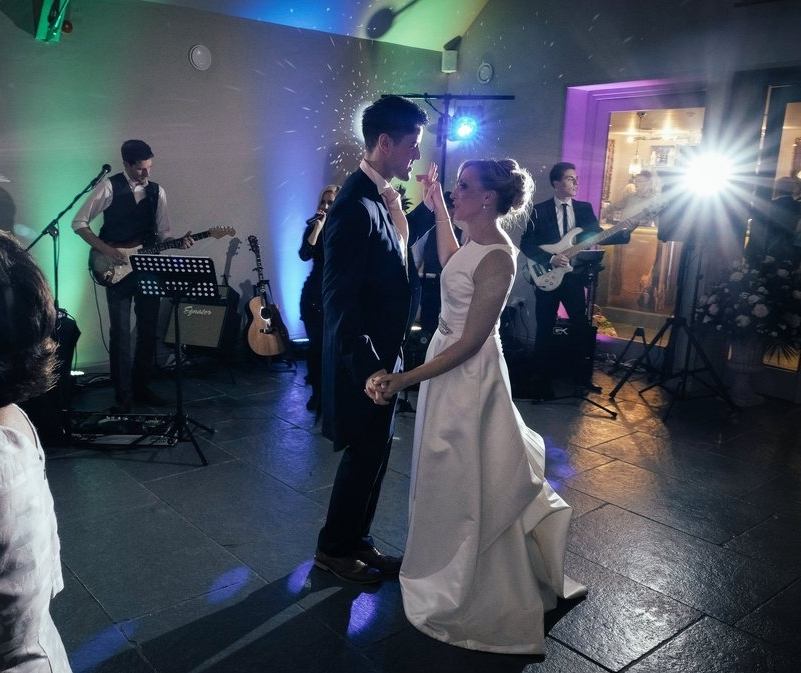 Warwickshire Wedding Band Blackwell Grange