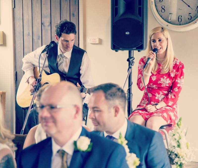 Dodmoor House Acoustic Duo Wedding