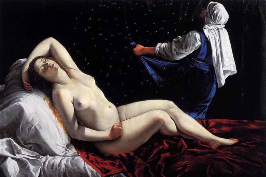 Artemisia Gentileschi – Danae (1612)