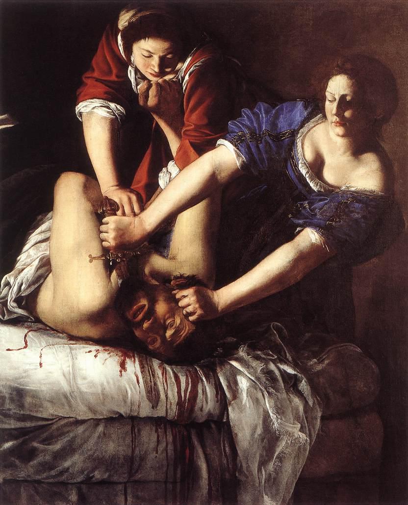 Artemisia Gentileschi – Giuditta decapita Oloferne (1617) Napoli