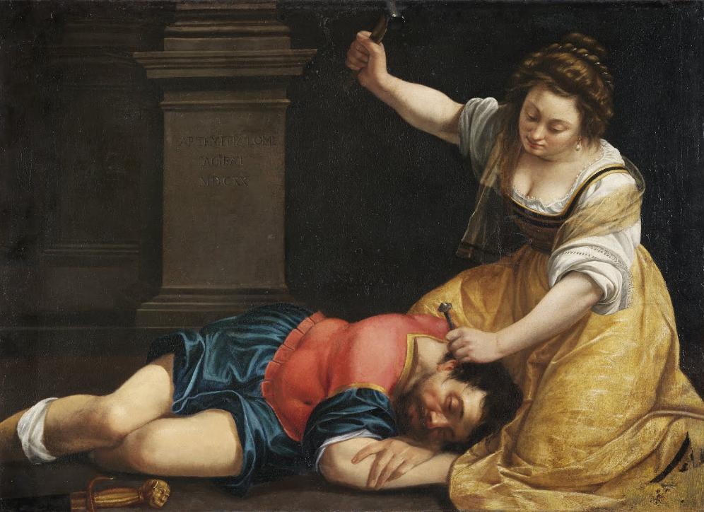 Artemisia Gentileschi – Giaele e Siara (1620)