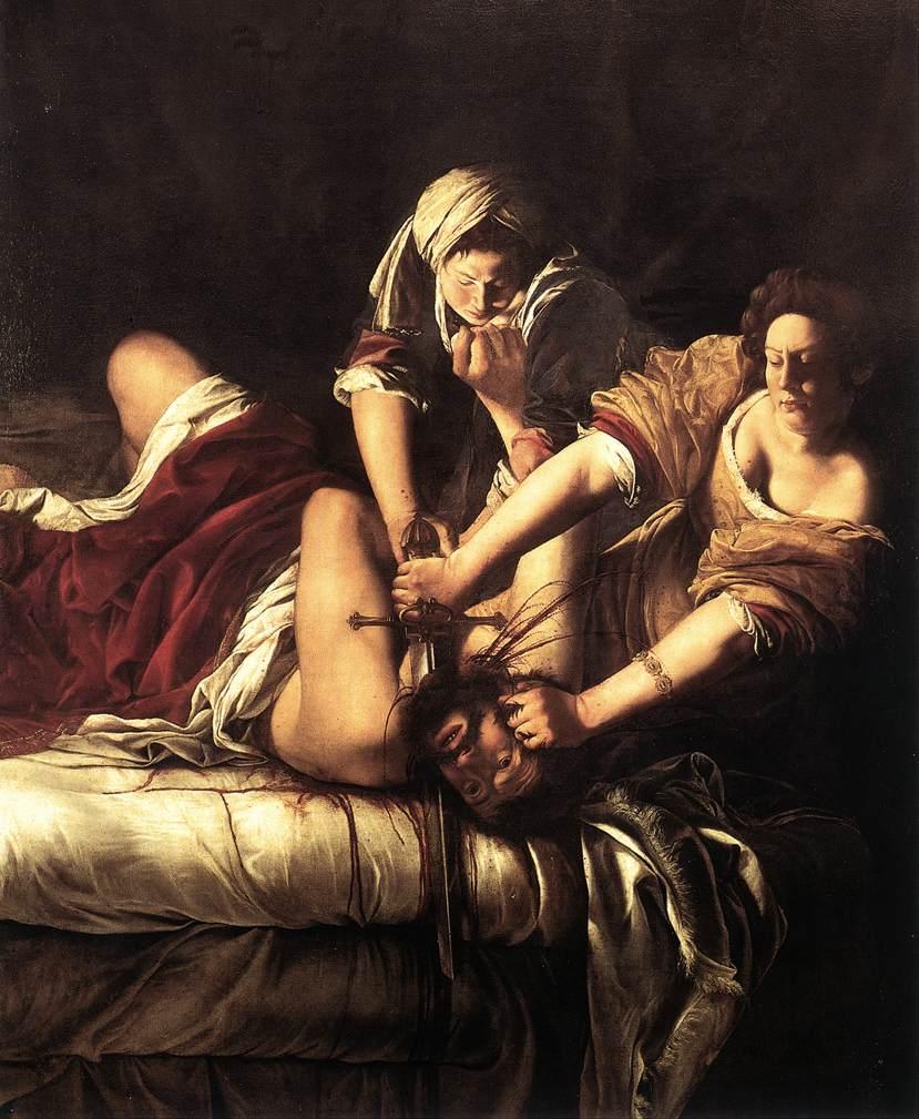 Artemisia Gentileschi – Giuditta decapita Oloferne (1620)  Firenze