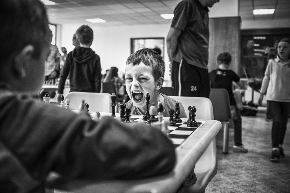 Michael Hanke, Youth Chess Tournament.
