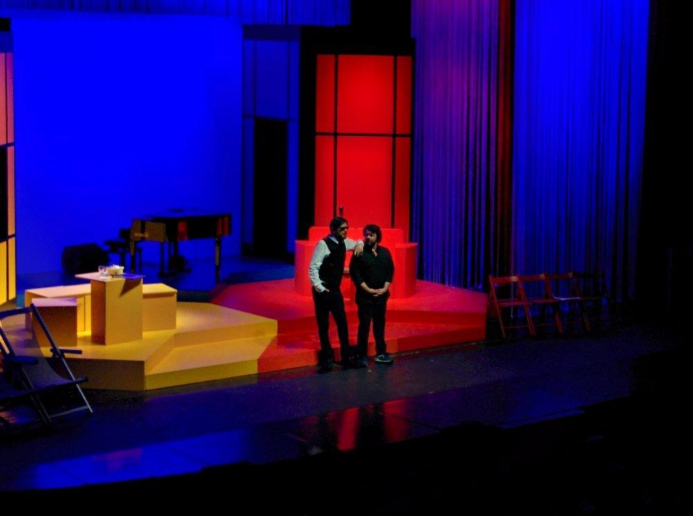 Lillo & Greg durante lo spettacolo