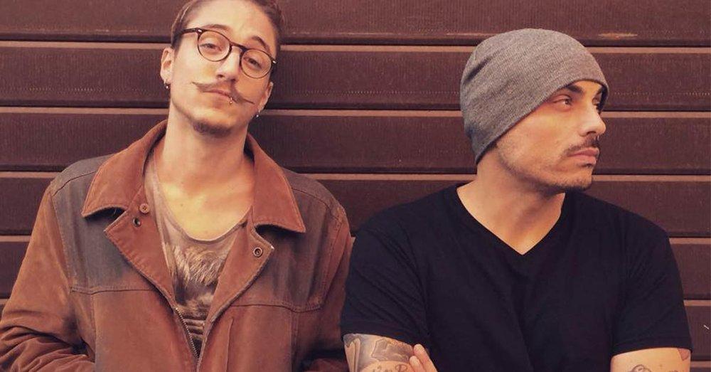 Cranio Randagio e Squarta Cali; fra i due era nata un ottima collaborazione musicale e una grande amicizia.