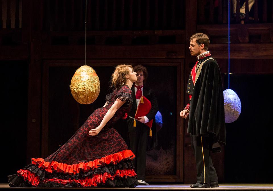 Il Principe di Aragona, pretendente, con Porzia