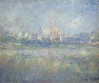 MMT 158888                                Vetheuil in the Fog, 1879 (oil on canvas)                                Monet, Claude (1840-1926)                                MUSEE MARMOTTAN MONET, PARIS, ,