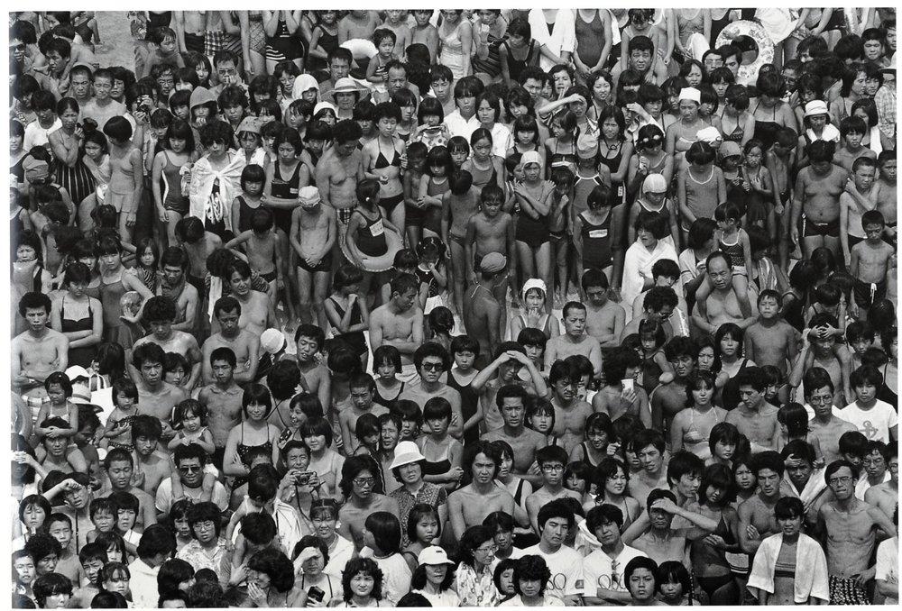 Hiromi Tsuchida, Oiso 1981, serie COUNTING GRAINS OF SAND, 1981.jpg
