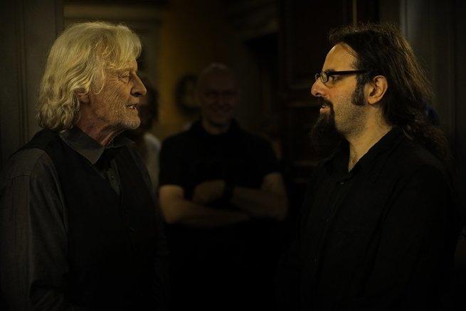 Il Regista Louis Nero con l'attore Rutger Hauer