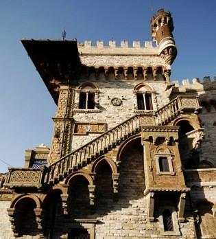 Il Castello Mackenzie, nel quartiere residenziale di Castelletto.