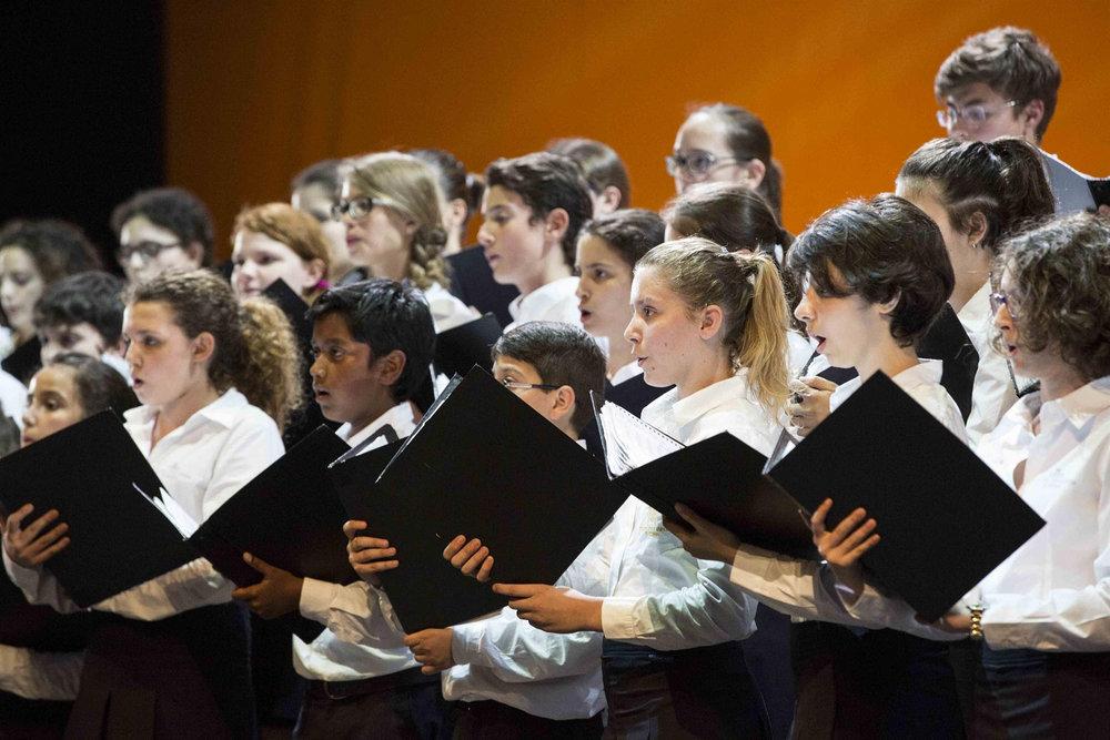La Scuola di Canto Corale del Teatro dell'Opera di Roma ©Yasuko Kageyama - Opera Roma