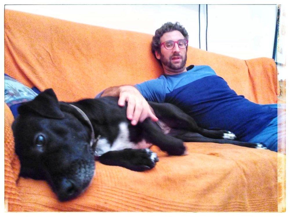 Luna e Giulio chilling....