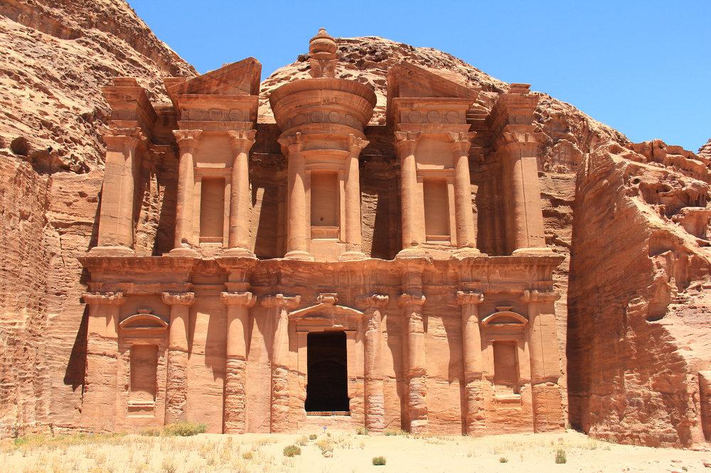 Ad-Deir Monastery trail