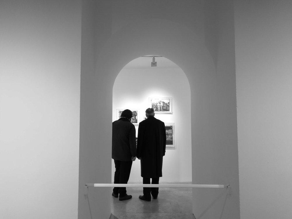 Scorcio della mostra. ph Rafa Belincanta