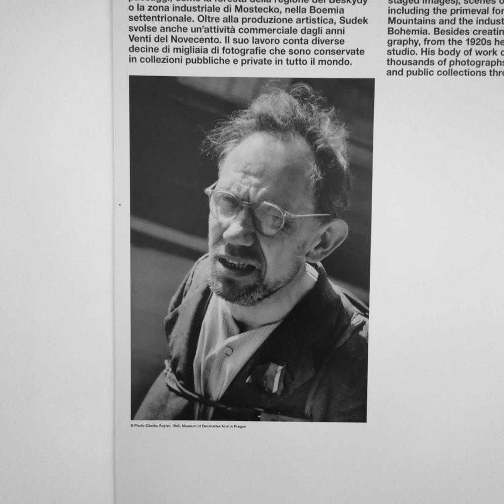 Il fotografo ceco Josef Sudek