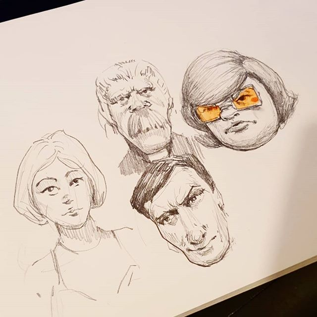 #pencildrawing #sketches #sketchbook #portrait #drawingoftheday #characterart