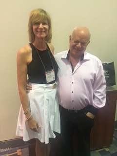 August 2017: Dr. Sircus at  the APA conference in Washington, DC with Martin Seligman Ph.D., author of  The Learned Helplessness Model