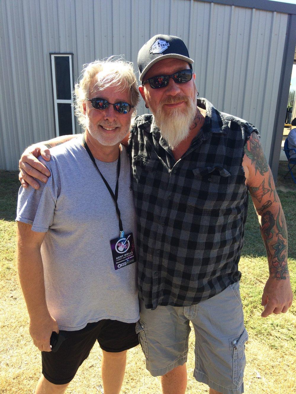 Dan with Jon Wysocki