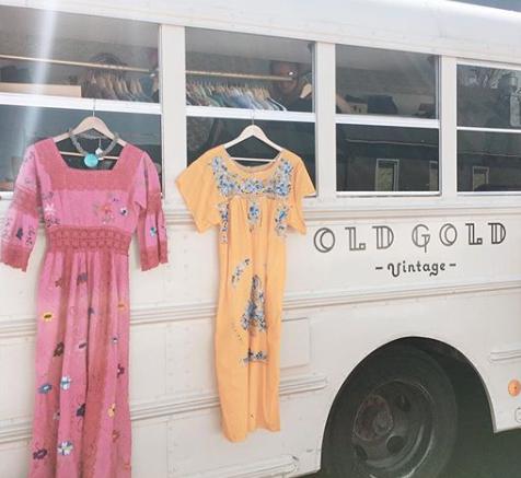 • two sisters • one bus • rad vintage •