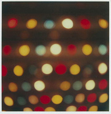 Coney Island Lights, SX - 70 Polaroid Print, 2000