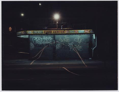 Friendly Food Center, Polaroid Print, 2001