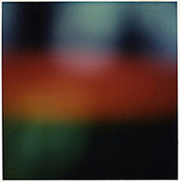 Abstraction #1, SX - 70 Polaroid Print, 1999
