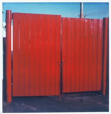 Red Gate, SX - 70 Polaroid Print, 2002