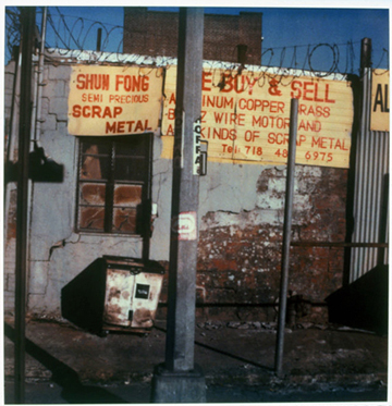 Shun Fong, SX - 70 Polaroid Print, 2002