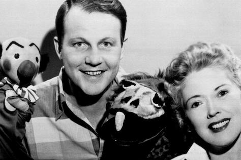 Puppeteer Burr Tillstrom and Actress Fran Allison