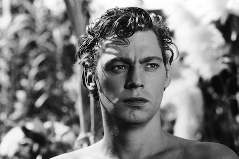 Olympian and Actor Johnny Weissmuller