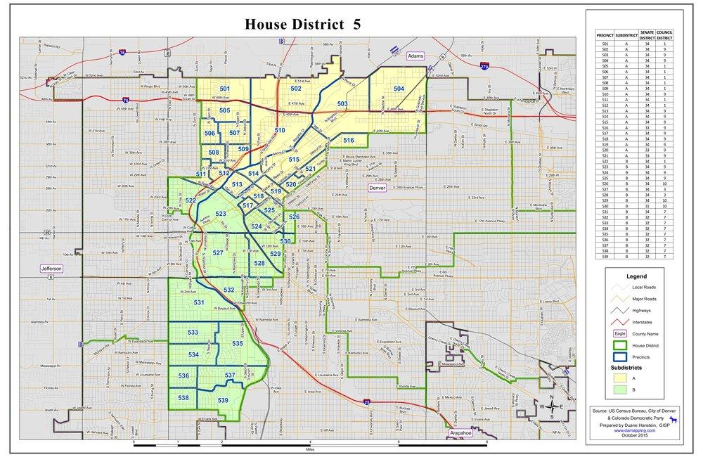 Colorado House District 5